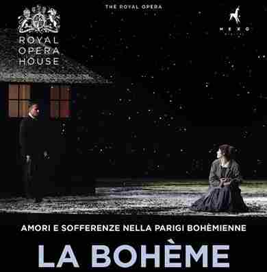 La Bohème della Royal Opera House al cinema