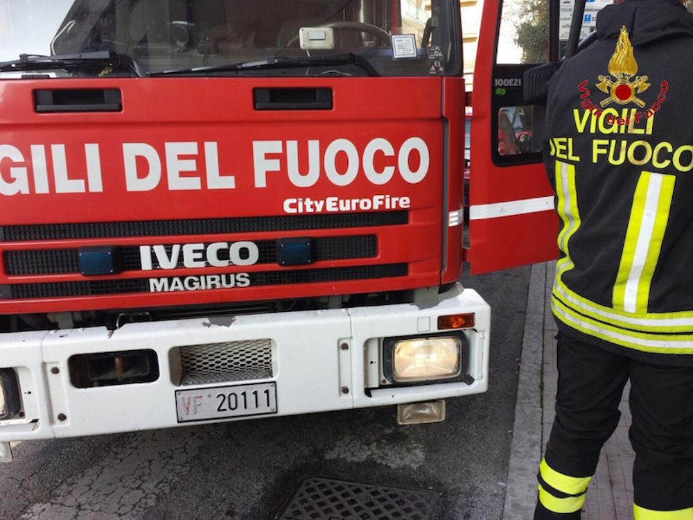 Incendio in Municipio a Cervignano