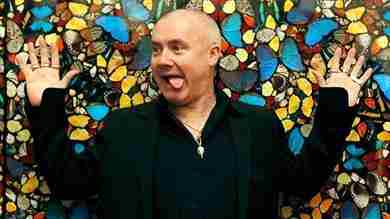 Settimana in streaming con l\u0027arte di Damien Hirst